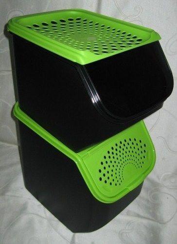 tupper zwiebellager tupperware ebay. Black Bedroom Furniture Sets. Home Design Ideas