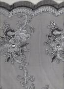 Beaded Mesh Fabric