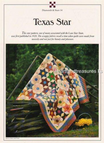 Texas Star Quilt Ebay