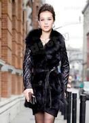 Leather Fur Coat