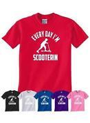 Kids Scooter T Shirt