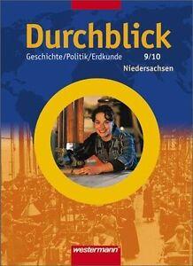 Durchblick 9 / 10. Schülerband. Hauptschule. Niedersachsen von Dietmar...