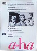 A-ha Poster