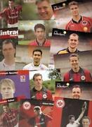Autogrammkarten Eintracht Frankfurt