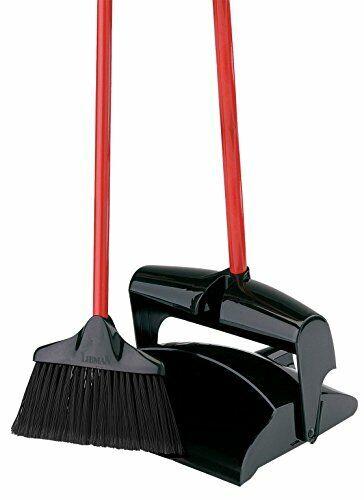 Libman 917 Lobby Broom and Dust Pan (Closed Lid)