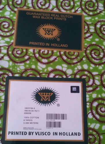 Vlisco Fabric Ebay