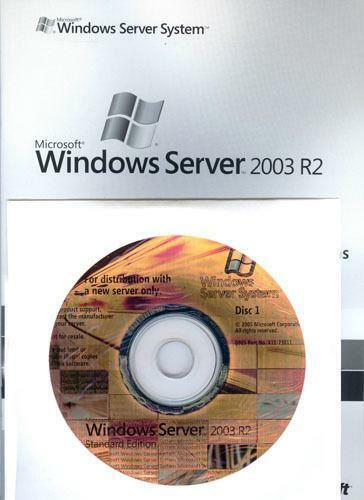 Windows server 2003 standard r2 sale