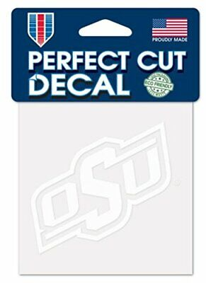 Oklahoma State Cowboys 4x4 Perfect Cut Decal Sticker Car Truck Auto FAST SHIP