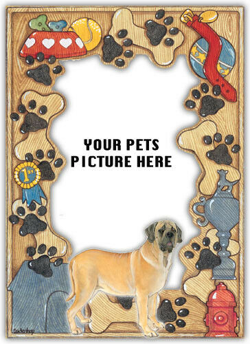 Mastiff Picture Frame