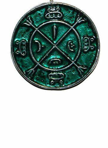 Circle of Protection Amulet / Talisman / Pendant (Wicca Pagan Ritual Magick)