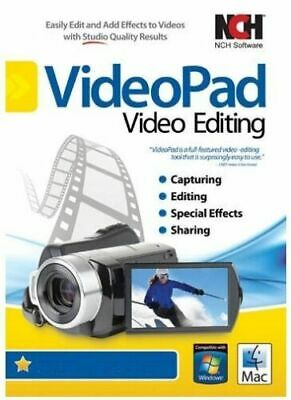 VideoPad Video Editor License Key  /E-Delivery