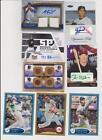 Game Used Baseball Card Lot