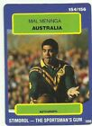 Mal Meninga Single NRL & Rugby League Trading Cards