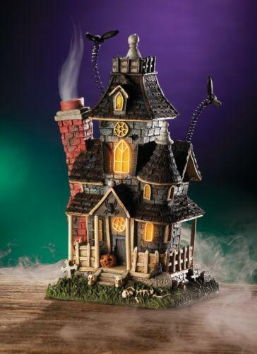 Lighted Halloween Houses Ebay