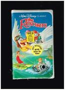 The Rescuers VHS