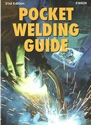 Hobart Pocket Welding Guide - 31st Edition - Brand New Quick Ship