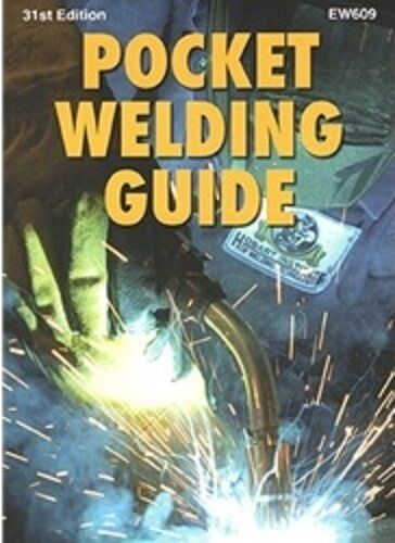 Hobart Pocket Welding Guide - 31st Edition - Brand New! Quick Ship!