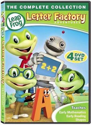 Leapfrog Letter Factory Adventures [New DVD] Boxed Set