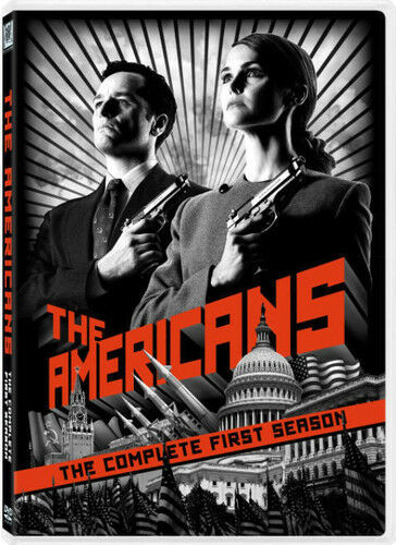 Americans: The Complete First Season [4 Discs] (2014, REGION 1 DVD New) WS
