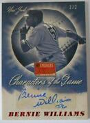 Bernie Williams Auto