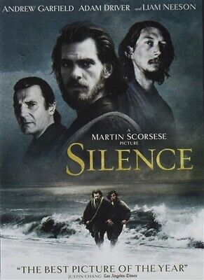 SILENCE New Sealed DVD Martin Scorsese Liam Neeson