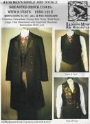 Mens Coat Pattern