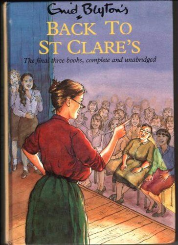 Back to St. Clare's,Enid Blyton