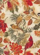 Cardinal Bird Fabric