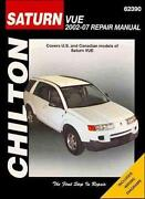 Saturn Vue Repair Manual