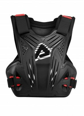 ACERBIS IMPACT MX CE 1621-2 CHEST PROTECTOR BLACK MOTOCROSS BODY ARMOUR NEW MTB