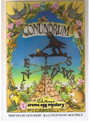 Conundrum: Cadbury's Creme Egg Mystery By Don Shaw for sale  Shipping to Canada