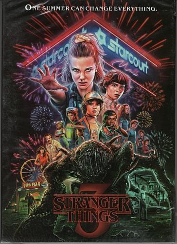 STRANGER THINGS DVD. 2019 SEASON 3 . NEW AND SEALED - $10.35