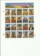 US Postage Stamp Sheets