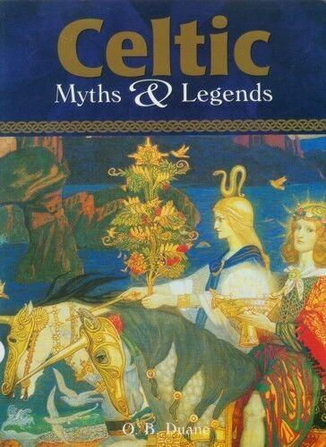 RARE XL Celtic Myths & Legends Warriors Wizards Fairies Art Ireland Britain Rome