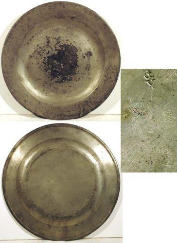 Antique Pewter Plates : Antique pewter plate ebay