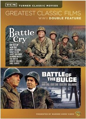 Battle of the Bulge / Battle Cry [New DVD] 2 Pack, Ac-3/Dolby Digital, Dolby,