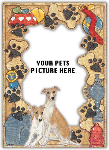 Whippet Picture Frame