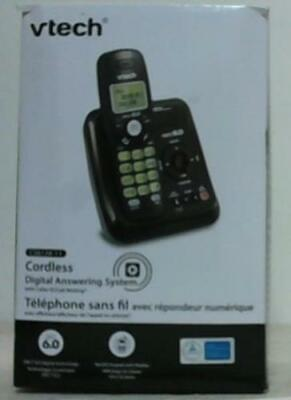 NEW OPEN BOX Vtech CS6124-11 Black Cordless Answering System with Caller ID