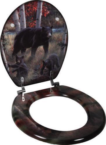 Deer Toilet Seat Ebay