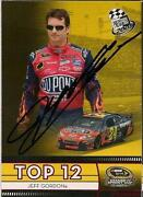 Jeff Gordon Autograph