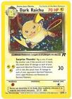 Dark Raichu Pokemon Card