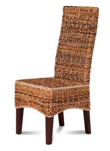 Wicker Dining Room Chairs Ebay