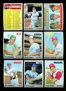 1970 Topps Lot NM