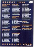 1998 AFL Select