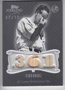 Lou Gehrig Bat