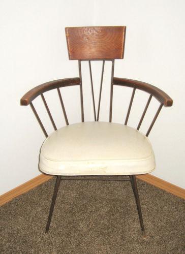Beau Antique Captains Chair | EBay