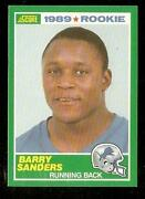 Barry Sanders Score Rookie