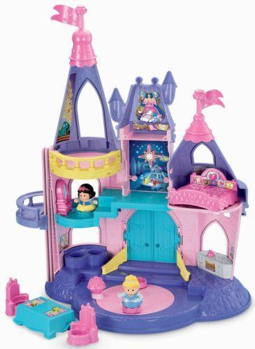 Toy For Ages Five To Seven : Fisher price little people castle ebay