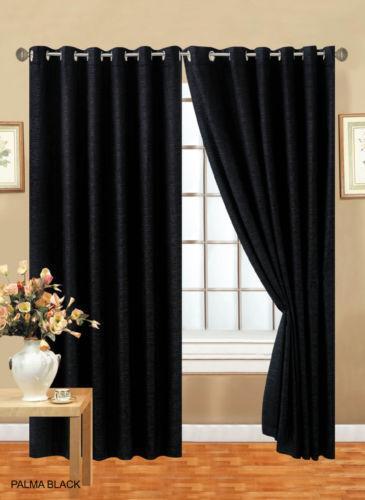 Chenille Eyelet Curtains Ebay