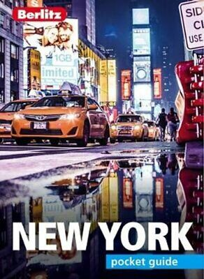 Berlitz Pocket Guide New York City (Travel Guide with Dictionary) 9781785731181